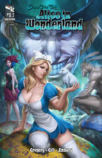 GRIMM FAIRY TALES ALICE IN WONDERLAND 1A ARTGERM 1ST PRINT NM SOLD OUT ZENESCOPE