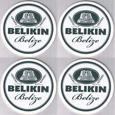 Lot 4 - 2006 Belize Beer Coaster Mat Unused Mint Belikin Mayan Ruin Altun Ha