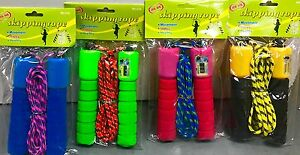 24 X Assorted Digital Skipping Jump Rope with Counter Timer