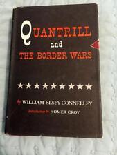 Rare Civil War Book Club Quantrill and the Border Wars Signed 1956