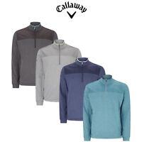 Callaway Heathered 1/4 Zip Golf Fleece Pullover / Golf Sweater
