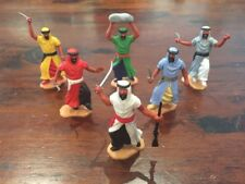 Timpo Arabs x 6 - Complete Set - Desert Warriors/ Bedouins - Sahara - 1970's