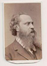 Vintage CDV Albert Niemann Alemán Tenor Opera Singer