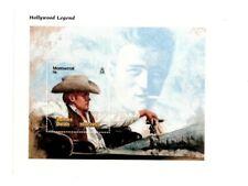Montserrat - James Dean Souvenir Sheet - MNH