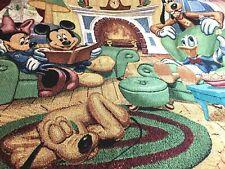 Disneyland Resort Mickey Mouse/Pluto/Goofy/Dd Cotton Tapestry Throw 4/19-3