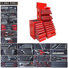 273 US Pro Tool Red Chest Box Cabinet toolbox SIDE CAB FINANCE AVAILABLE TOOLS