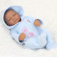 "22"" Newborn Sleeping Boy Baby Doll Reborn Lifelike Vinyl Handmade Silicone Gift"