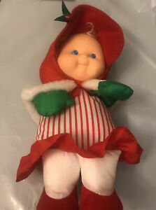 Vintage Fisher Price Puffalump Girl Christmas Plush 1992 Doll 11""