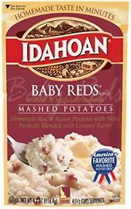 Idahoan, Mashed Potatoes, Baby Reds with Skins and Creamy Butter