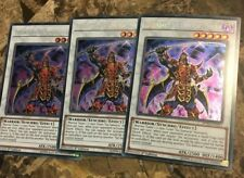 3x Legendary Six Samurai - Shi En - SPWA-EN011 - Secret Rare - 1st - M/NM Yugioh