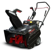 "Briggs & Stratton 22"" 205cc Single Stage Electric Start Gas Snow Thrower 1696506"