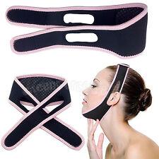 Facial Slimming Double Chin Cheek Band Strap Mask V Face Shaper Sleeping Massage