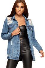 Manteaux et vestes bleu coton pour femme taille 36