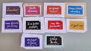 Nouveauté 2021 Série 10 timbres oblitérés -Carnet Croix Rouge française