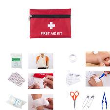 1 Set 63 Pcs First Aid Energency Kit Camping Sport Travel Home Car Medical Bag