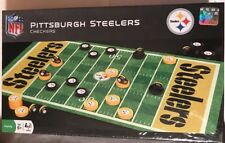 Pittsburgh Steelers NFL Checkers Set on Football Field