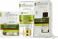 BIELENDA SET/KIT MEZO Actively Correcting Anti-Age Active Serum + Cream + Mask