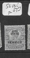 INDIA JIND (P2601B) KGV 3P  SERVICE SG O35  MOG