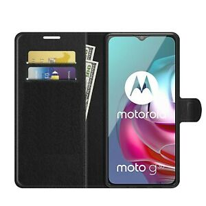 For motorola Moto G10 G30 G50 G60 Case Cover Magnetic Flip Leather Wallet Phone