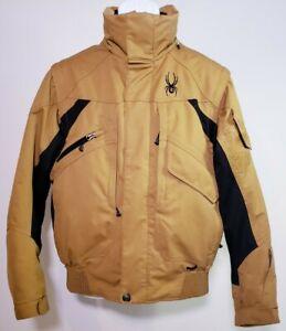 Spyder Men's Khaki Spylon Entrant Dermizax Ski Snowboard Jacket! Size M