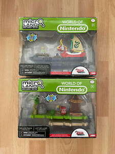 2x World Of Nintendo Microland Zelda Deluxe Pack Outset Island/King Of Red Lions