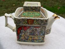 sadler english teapot robin hood staffordshire