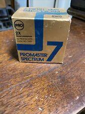 Promaster Spectrum 7 Pentax KPR 2x Teleconverter Lens Code 7405 New Old Stock