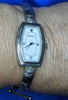 Brighton Venezia silver tone bracelet ESTATE WATCH FRESH BATTERY 620 A30