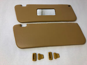 Palomino Colored Replacement Sun Visors Fits Mercedes W107 350sl 450SL 560SL