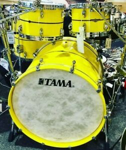 "Tama STAR BUBINGA Drum Set (22"" / 10"" / 12"" / 14"" / 16"" Shellset, Sunny Yellow"