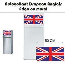 Frigo drapeau anglais  - décoration intérieur  - sticker adhésif