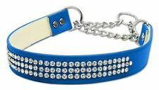Martingale 3 Row Crystal Collar