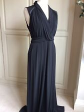 PLANET Dress Size 14 Black Maxi Sleeveless Formal Evening Dress Special Occasion