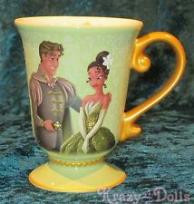 Disney Designer Fairytale Doll Collection Tiana and Prince Naveen Mug NEW