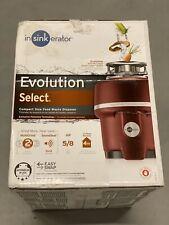 NEW InSinkErator Evolution Select Garbage Disposal- 5/8 HP - Sealed Retail Box