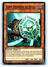Djinn Disserere Of Rituals - Super Rare YUGIOH Card Lightly Played Condition
