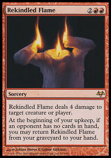 MTG 2x REKINDLED FLAME - RIACCENDERE FIAMMA - EVN