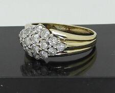Ring mit Diamanten 1,00 Carat  Wesselton SI 585er Gold