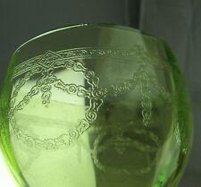 antikes Weinglas Uranglas Ätzdekor #2/2