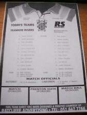 19/10/1994 Tranmere Rovers Reserves v Wolverhampton Wan