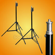 "[US] 2PCS 200cm / 6.5ft Studio Photo Video Lighting Light Stand with 1/4"" Thread"