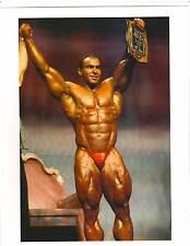 bodybuilder NASSER EL SONBATY Bodybuilding Muscle Photo Color