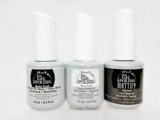 IBD Just Gel Polish- 3pc kit- Mattify MatteTop, Base & Top Coat  0.5oz/14ml/each