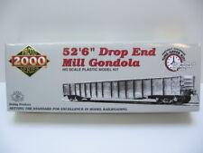 Proto 2000 CBQ 52`6`` Drop End Mill Gondola mit Ladung 920-54096 1:87 H0 NEU