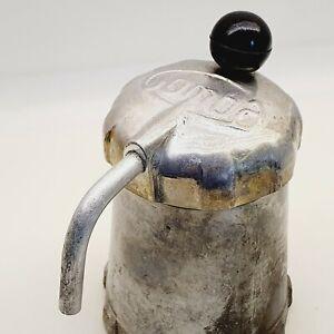",,Gomba""= Mushroom Aluminium coffee maker on gas-cooker 4 pers Hungary 1960's"