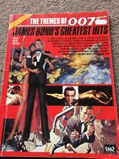 The Themes Of 007 James Bond's Greatest Hits Piano Vocal Chords Song Book