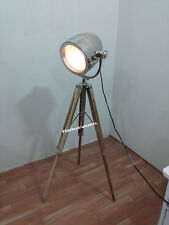 VINTAGE TABLE LAMP COLLECTIBLE SEARCHLIGHT TRIPOD CHRISTMAS GIFT