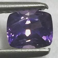 Natural 0.95 Carat Purple Violet Sapphire Genuine Loose Gemstone Cushion