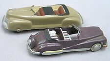 Two Vintage Custom Convertible Toys -- Plastic & Die Cast - Chrysler and Buick