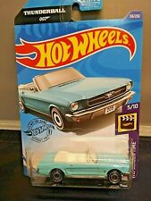 Hot Wheels Thunderball 007 '65 Ford Mustang Convertible HW Screen Time #5/10 New